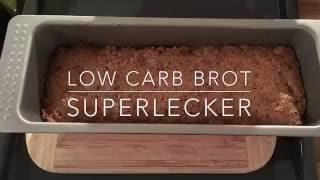 low carb Nussbrot - kinderleicht - super lecker - Kohlenhydrate arm - Stoffwechselkur geeignet