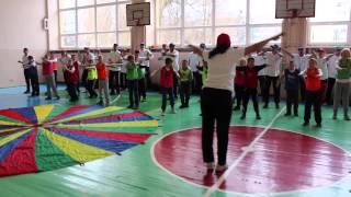 Незвичний урок фізкультури в Луцьку