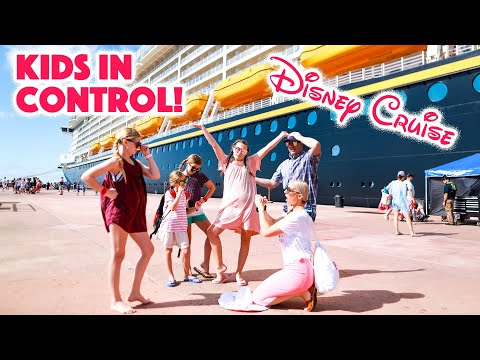 KIDS CONTROL the day FOR 24 HOURS on DISNEY CRUISE!