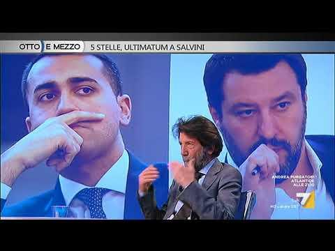 Otto e mezzo - 5 Stelle, ultimatum a Salvini (Puntata 18/04/2018)