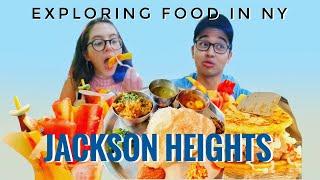 Exploring Food in Jackson Heights