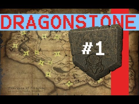 -Lets Play Skyrim- Retrieving The Dragon Stone pt1