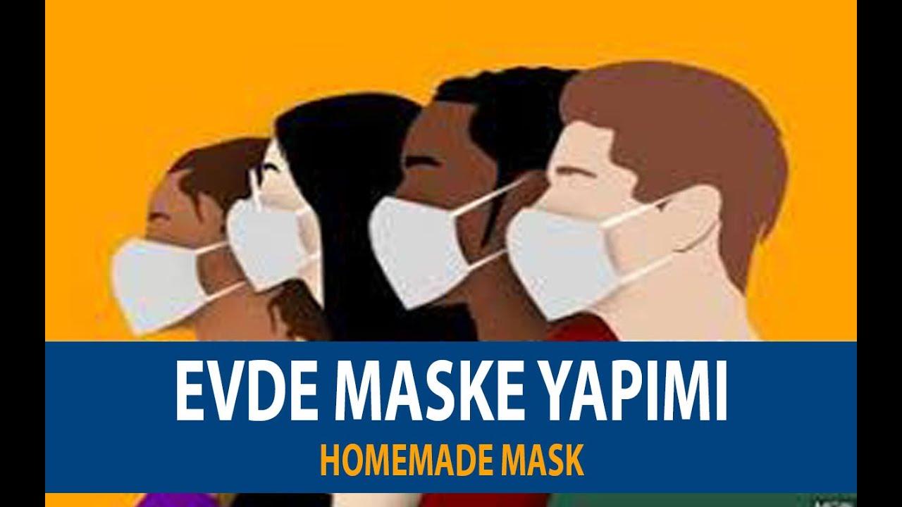 Corona Virüs Kovid-19 Evde Kendin Yap Maske Yapımı Hijyenik Maske Detaylı Anlatım. Homemade Mask