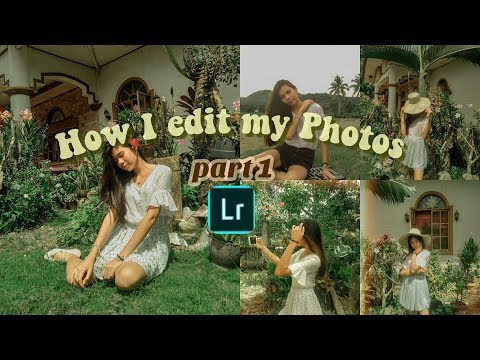 ⭐️How I edit my photos ( Lightroom edition)
