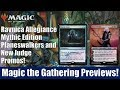 MTG Ravnica Allegiance Mythic Edition Planeswalkers and New Judge Promos