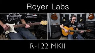 Royer Labs R- 122 MKll Microphone Demo Video by Shawn Tubbs