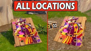 Fortnite: Get a score of 10 or more on different Carnival Clown Boards | Locations Week 9 Challenges