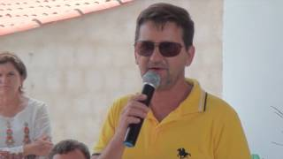 Germano Noronha do INSS na festa dos 50 anos do Sindicato dos Trabalhadores Rurais de São João do Jaguaribe