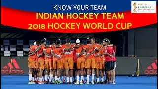 Know your Team: Indian Hockey team for the 2018 Hockey World Cup🏑🏆