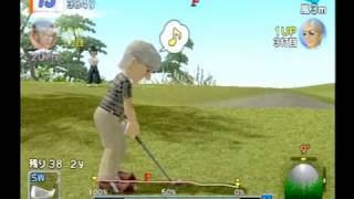 みんなのGOLF 4(PS2) Golf party 4 test play  011-以降録画データ紛失 Hot Shots Golf Japan