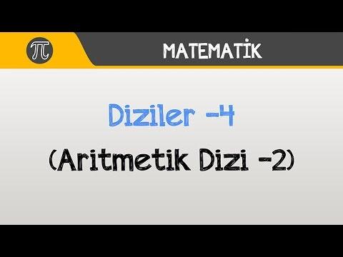 Diziler -4 (Aritmetik Dizi -2) | Matematik | Hocalara Geldik