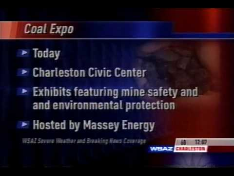 West Virginia Coal Expo Hosted by Massey