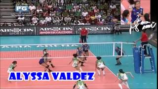 ウィングスパイカー Alyssa Valdez  vs 2401 Taft Avenue, Malate, Manila, 1004 Metro Manila 😆