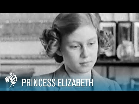 Princess Elizabeth's (now The Queen) Broadcast to Children  (1940)