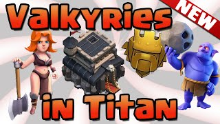 NEW TH9 Valkyrie Attack with Bowler in Titan! Clash of Clans - GoVaBo Valkyrie Attack Strategy