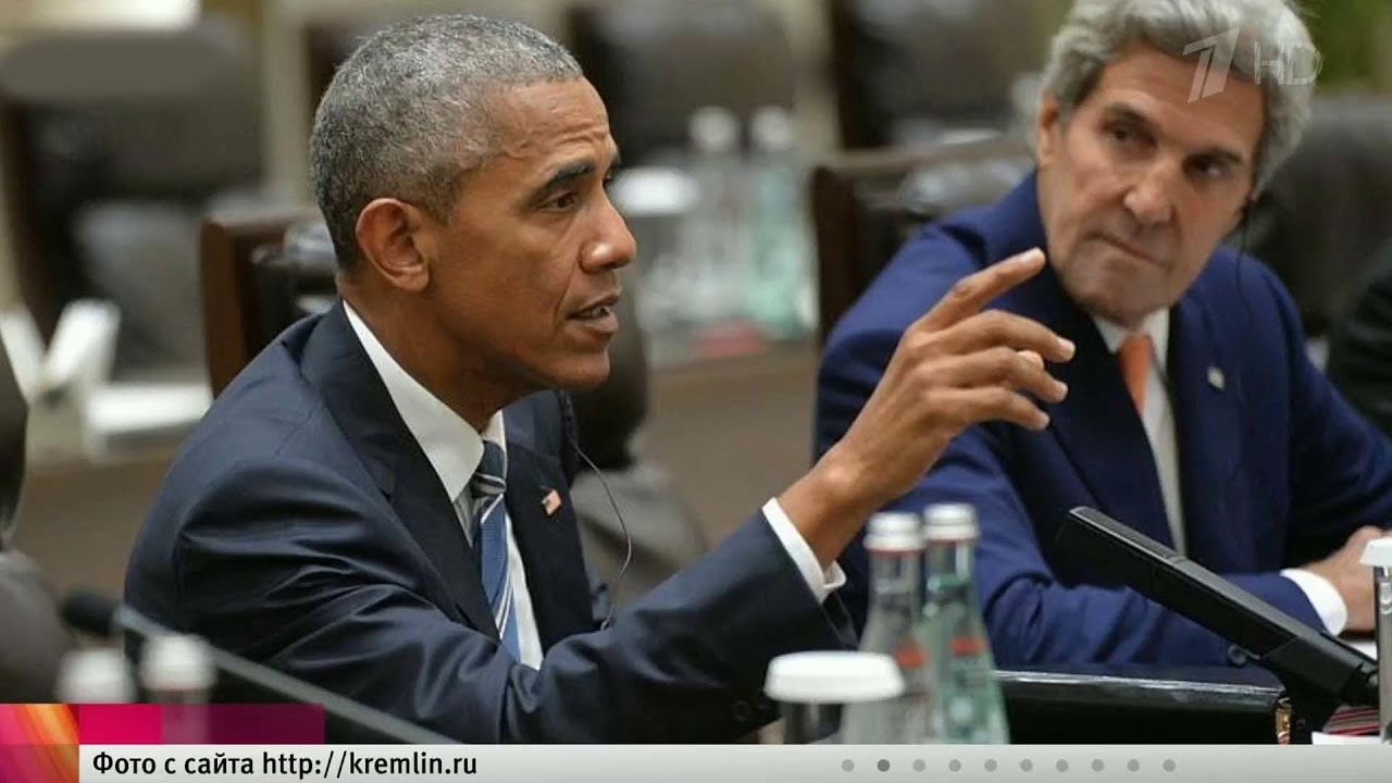 На саммите G20 вКитае прошли закрытые для прессы переговоры Владимира Путина иБарака Обамы.