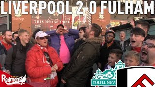 Liverpool v Fulham 2-0 | Free For All Fan Cam