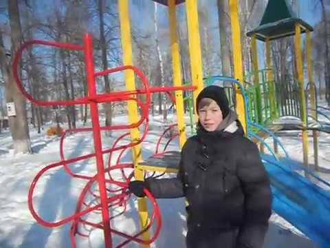 Обзор на парк города Малмыжа. (Крутая детская площадка)