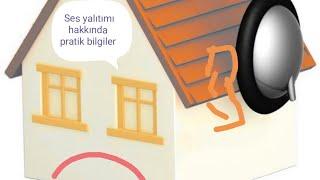 Komşu duvar Ses yalıtımı nasıl olur? Sound insulation