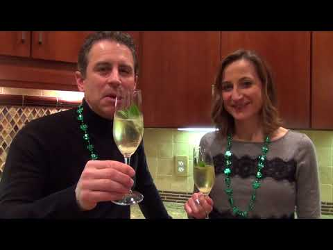 Wine tasting: Sparkling Lemon Mint Julep