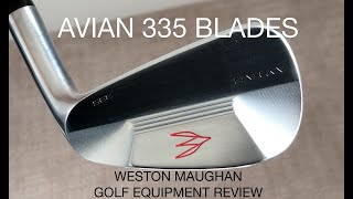 Avian 335 blade irons - golf club review