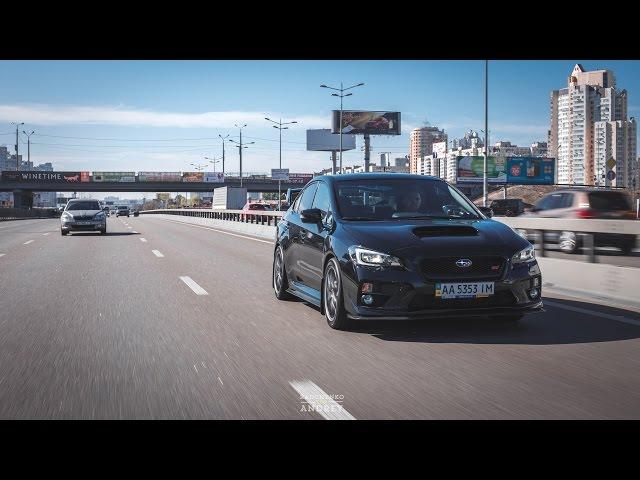 Тест-драйв Subaru WRX STI 2015 (PRO100Drive)
