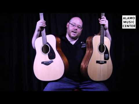 Yamaha FG700S vs Fender DG 8S Comparison - Which Beginner Acoustic Guitar is Better?