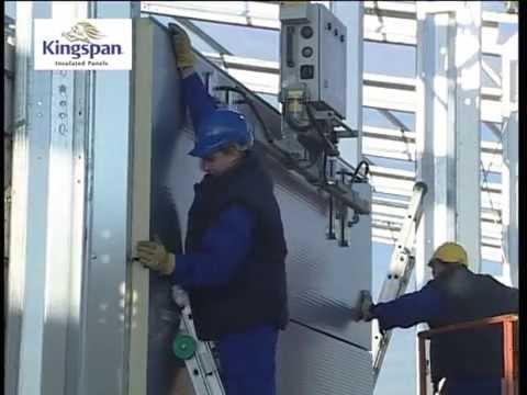 Kingspan wall panel AWP installation/...