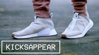 sale retailer 590ce c7c1b On Feet   Adidas Consortium Nmd Cs2 Kith X Naked