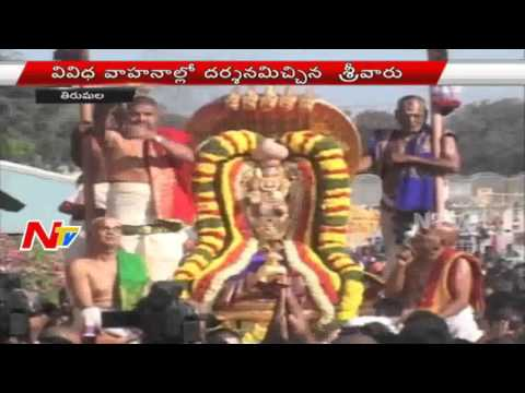 Ratha Saptami Celebrations in Tirupati | Live | Part 02