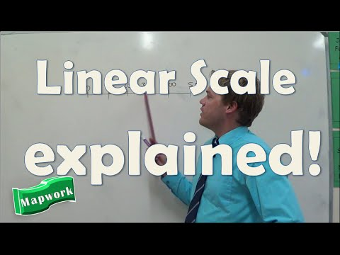 Mapwork: Linear scale