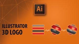 Illüstrator Dersleri: 3D Logo oluşturma