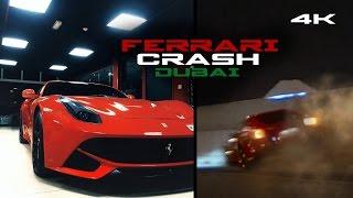 Dubai Street Race FERRARI CRASH!! [4k] Zwingfilms