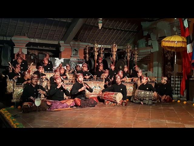 Tabuh Kebyar Susun by Gong Genta Bhuana Sari Balerung Stage Peliatan 10 Jan 2021