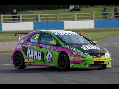 Robb Holland On Driving His BTCC Honda Civic RaceCar - /SHAKEDOWN Interview