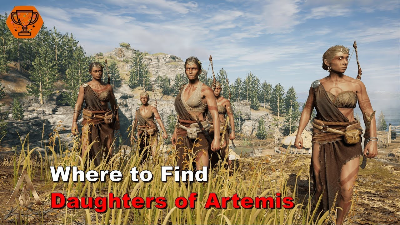 Assassin S Creed Odyssey Where To Find Daughters Of Artemis