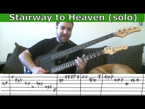 Guitar Tutorial: Stairway to Heaven Solo - w/ TAB