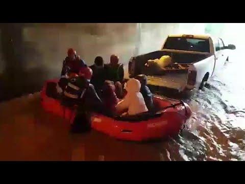 """חילוץ מכפר חב""""ד בעקבות מזג האוויר"""