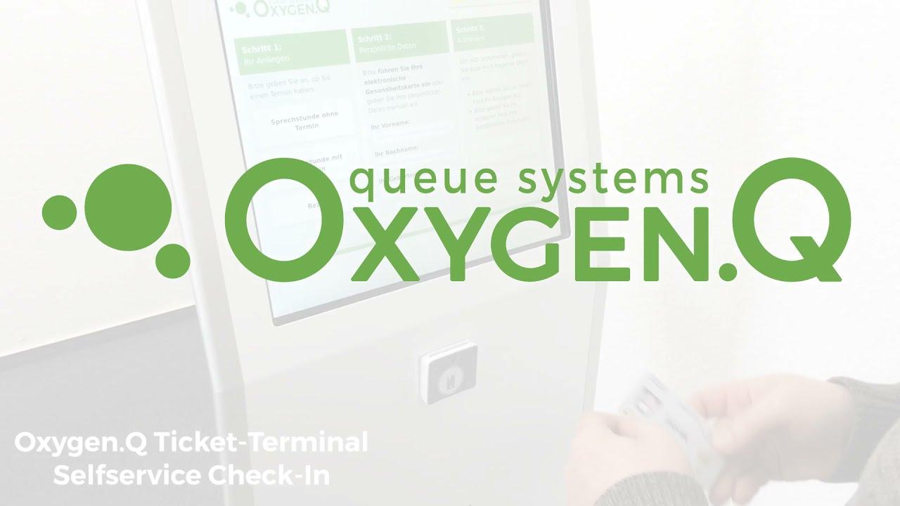 Oxygen.Q - Check-In mit Gesundheitskarte (eGK)