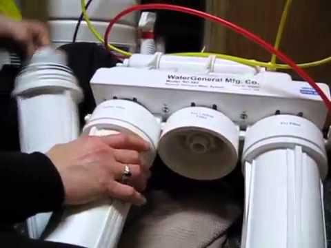 Su arıtma cihazı filtresi değişimi