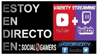 🔴Directo Youtube OBS   El Papagamer   1080 ti aorus   #twitch Follow: @georgexcv 🔵
