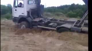 Wesołe jest życie kierowcy ciężarówki MAN