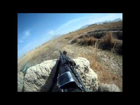 Afghanistan firefight : Awesome montage