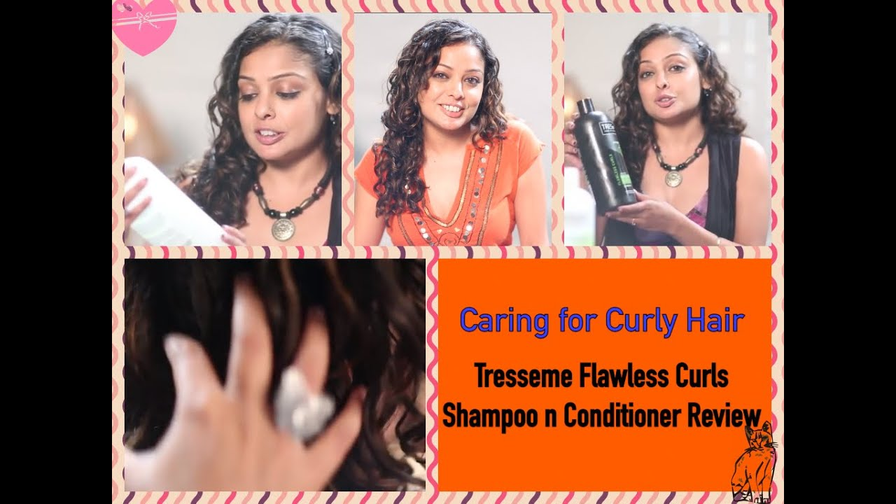 Curly Hair Care Tips Review Tresemme Flawless Curls Shampoo Conditioner You