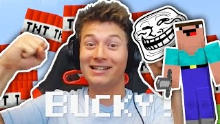 #1 NOOB TROLL PRANKS ANGRY PROS IN MINECRAFT