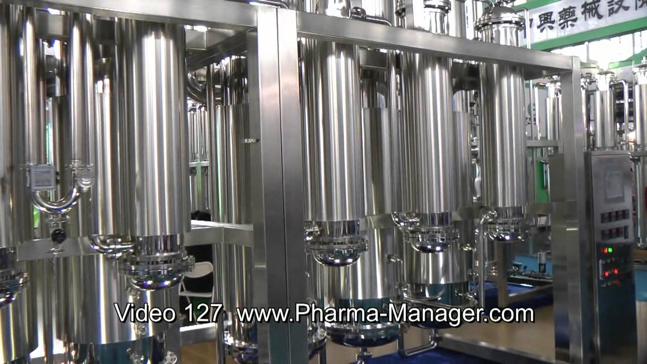 Pharmaceutical Water Preparation Systems Delivery To Russia Video 127 Www Pharma Manager Com