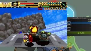 Advance Guardian heroes speedrun