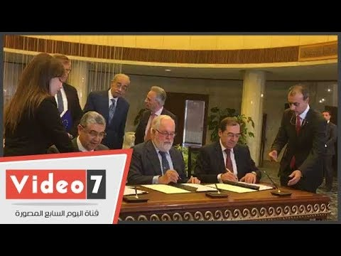 رئيس الوزراء يشهد توقيع مذكرة تفاهم بين الاتحاد الأوروبى والبترول والكهرباء  - 17:23-2018 / 4 / 23