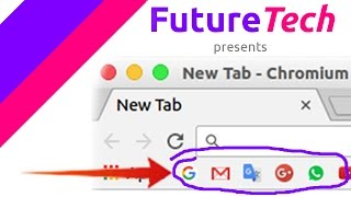 chrome browser tips & tricks [ Make pretty bookmarks ]