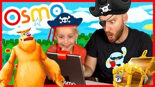 OSMO Monster Unboxing + Treasure Hunt Challenge with iPad Game System | KIDCITY